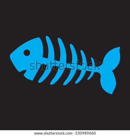 fish bone  fish skeleton
