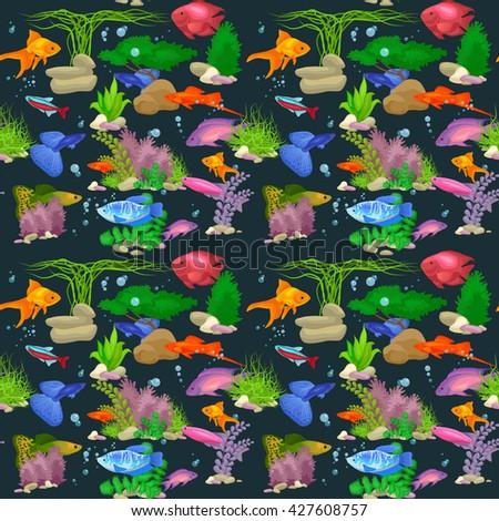 fish  fish vector  fish sea