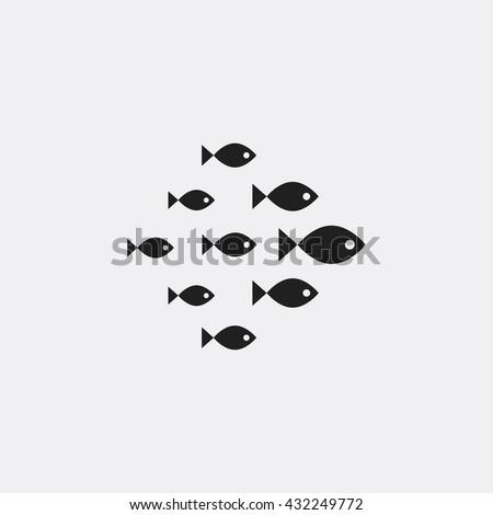 Fish Icon ストックフォト ©