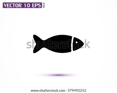 fish icon  fish icon eps 10