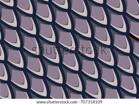 fish scale pattern  purple