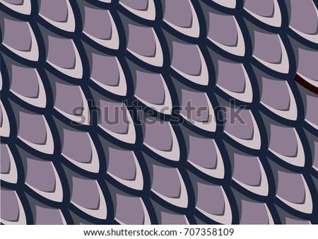 fish scale pattern  purple