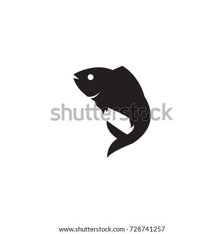 fish silhouette logo