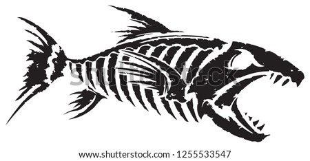cute angler fish - Bing Images | Fish silhouette, Animal silhouette, Sea  creatures drawing