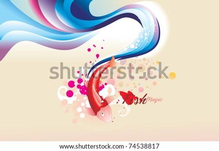 fish soft vector illustration