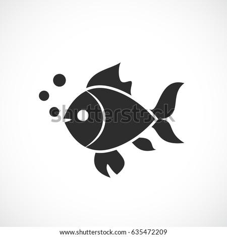 fish vector eps web silhouette
