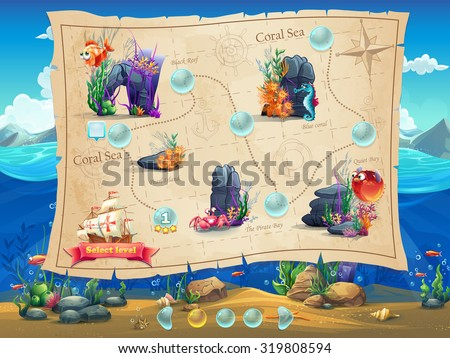 fish world   illustration