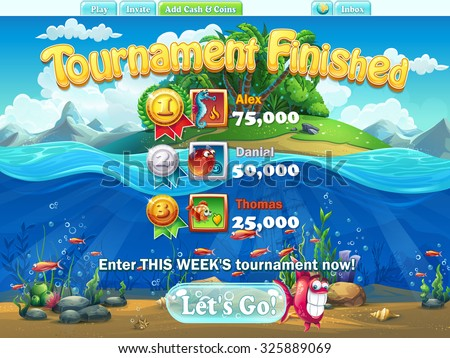 fish world   tournament
