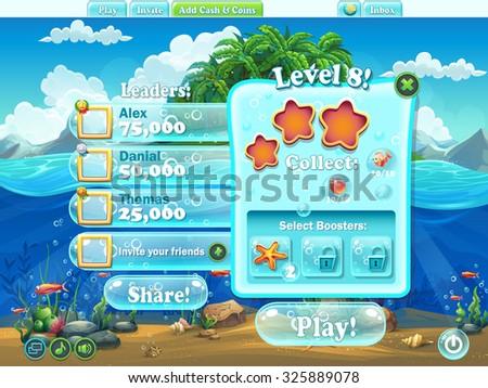 fish world   window level