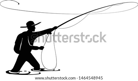 Fishing Boat Silhouette Clip Art Fly Fisherman Clipart Stunning Free Transparent Png Clipart Images Free Download