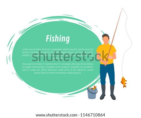 586f1dc134551 Blue Fishing Rod Illustrations - Download Free Vector Art