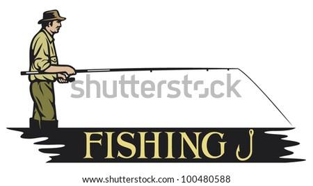 fishing design (fisherman)