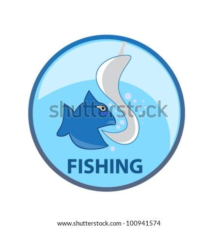 fishing emblem