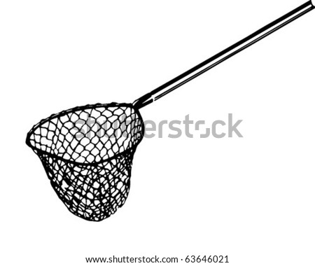 Fishing Net With Fish Clipart