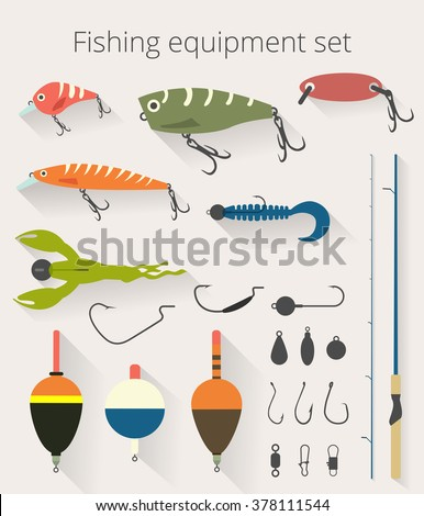 fishing set of accessories for...