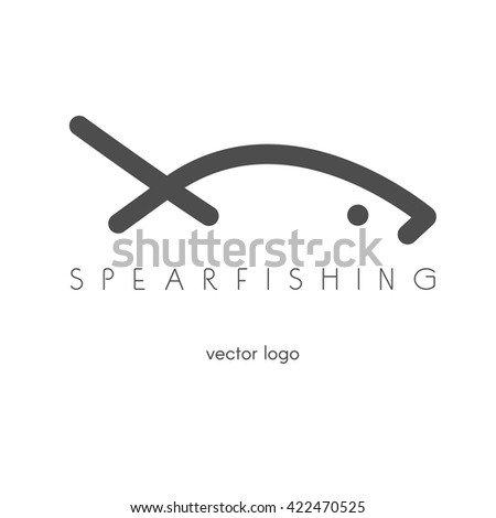 fishing  spearfishing vector