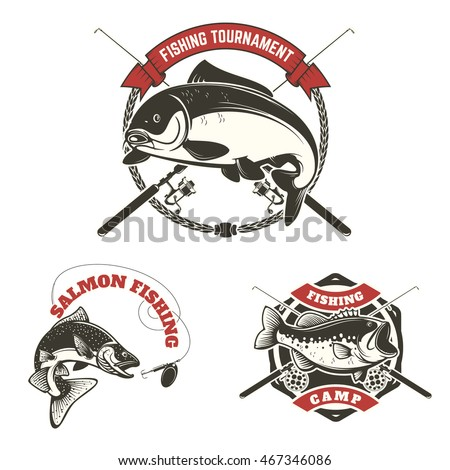 fishing tournament labels carp