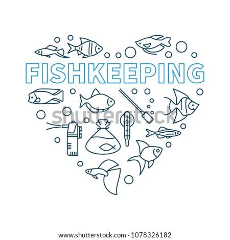 fishkeeping vector minimal