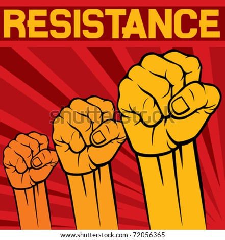 Resistance fist logo