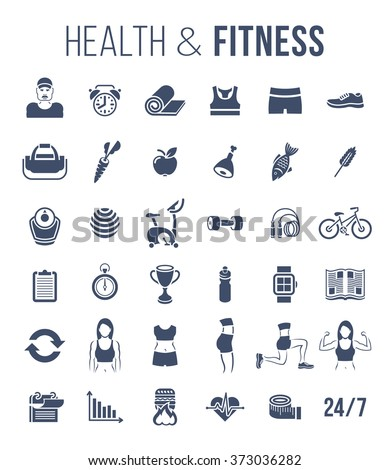 fitness gym and healthy