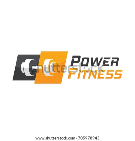 Fitness Gym logo - Shutterstock ID 705978943