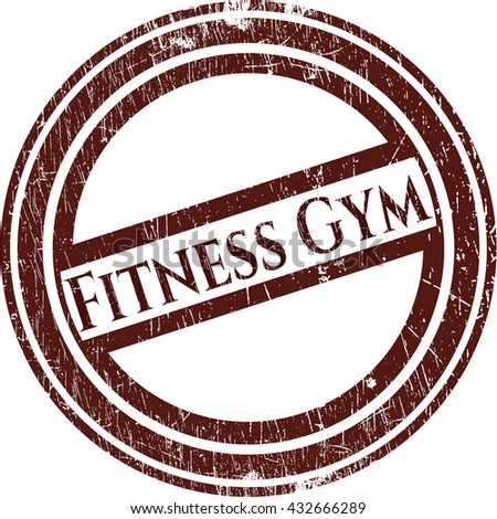 Fitness Gym rubber grunge texture seal