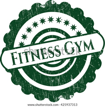 Fitness Gym rubber stamp