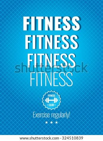 fitness illustrations for