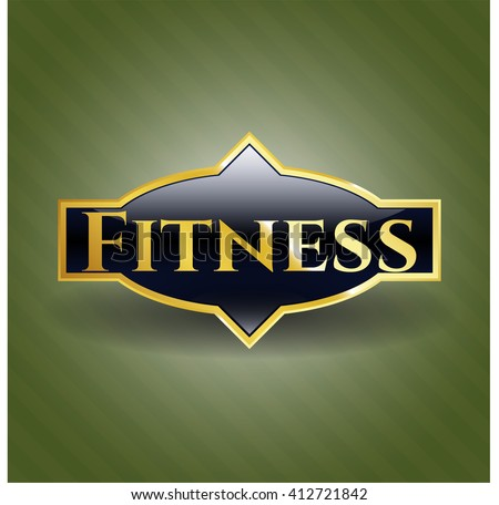 Fitness shiny badge