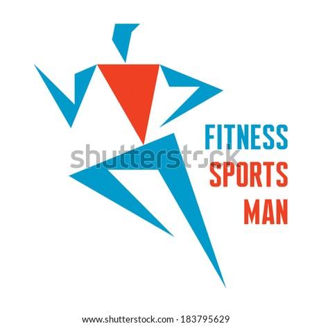 Running Logo Vector Running Man Vector Logo