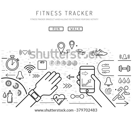 flat screen monitor message with Stock Vector Fitness Tracker With Pedometer Function Fitness Tracker With Heart Rate Monitor Outline Fitness on Product also Cursor Pointer Icons Mouse Hand Arrow 187051445 in addition Set Gadget Icons Telephone Mobile Phone 194967350 furthermore puter Keyboard Cartoon together with Surveillance.