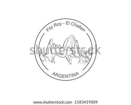 fitz roy mountain in patagonia