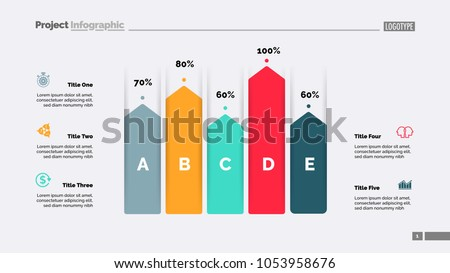 Percentage business bar chart vector - Download Free Vector