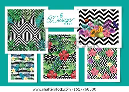 five designs tropicals in