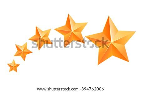 Set Of Star Rating Symbols Download Gratis Vectorkunst En Andere