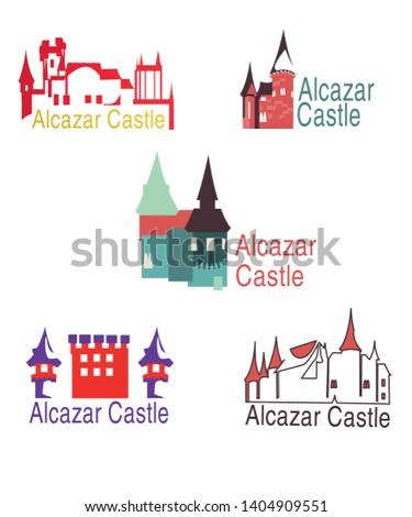 five logos of alcazar castle