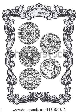 five of pentacles minor arcana