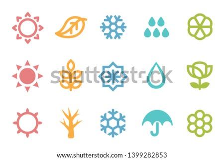 five seasons symbol 3 set