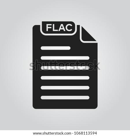 flac audi file format icon