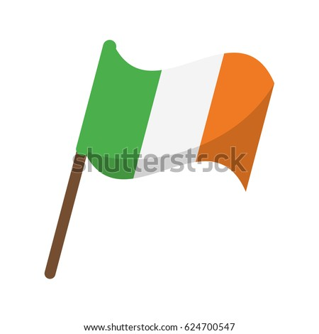 flag celebration saint patrick