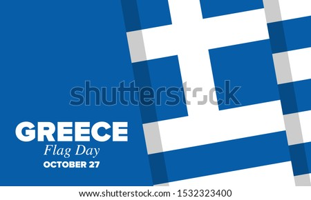 flag day in greece national