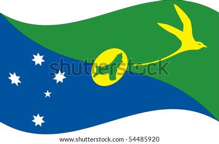flag isolated on white