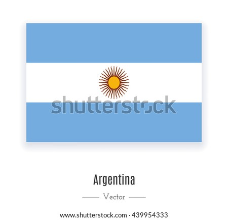 flag of argentina flag of