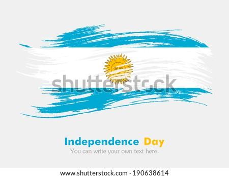 flag of argentina independence