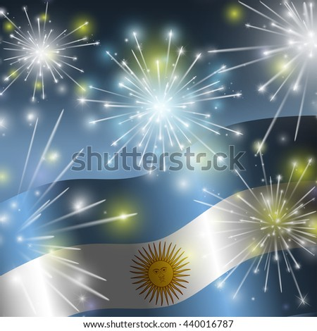 flag of argentina independence
