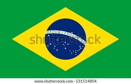 Shutterstock Flag of Brazil