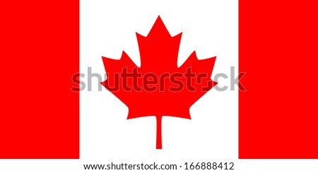 flag of canada 'the maple leaf'