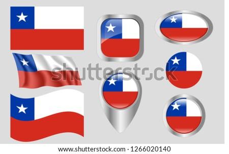 Flag of Chile #1266020140