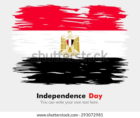 Flag Of Egypt On Grunge Background Download Free Vector Art Stock