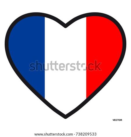 France Flag Ez Canvas